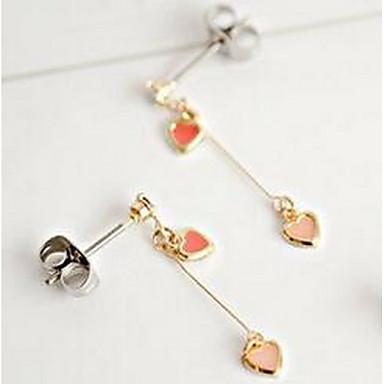 Damen Tropfen-Ohrringe Schmuck Einzigartiges Design Aleación Schmuck Für Alltagskleidung Kleid