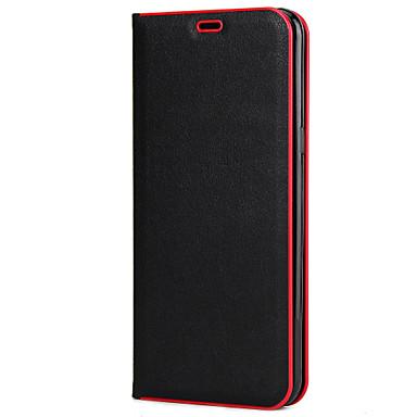 Hülle Für Samsung Galaxy S8 Plus S8 Kreditkartenfächer mit Halterung Flipbare Hülle Handyhülle für das ganze Handy Volltonfarbe Hart PC