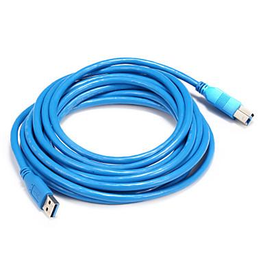 USB 3.0 Cablu, USB 3.0 to USB 3.0 USB tip B Cablu Bărbați-Bărbați 5.0m (16ft)