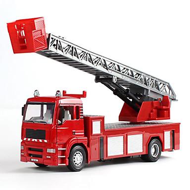 سيارة الإطفاء لعبة الشاحنات ومركبات البناء لعبة سيارات سيارة طراز حجم كبير محاكاة الحديد سبيكة معدن صبيان للجنسين للأطفال ألعاب هدية