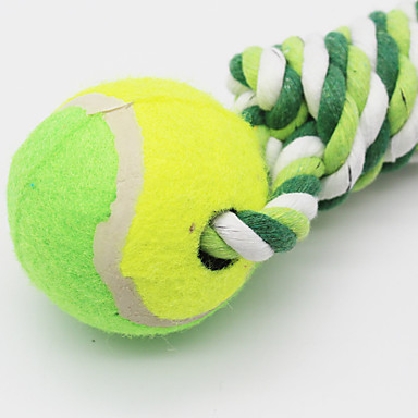 Jucării de Dentiție pt Pisici Jucării de Dentiție pt Căței Drăguț Minge Bumbac Pentru Pisici Câine