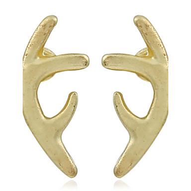 Pentru femei Închizătoare Cercel  Cercei Stud Cercei Rotunzi  Design Unic Multi-moduri Wear Adorabil Aliaj Metalic MetalPistol neregulat