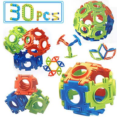 أحجار البناء ألعاب العلوم و الاكتشاف ألعاب تربوية ألعاب مربع إيجال اصنع بنفسك ABS الأطفال للجنسين قطع