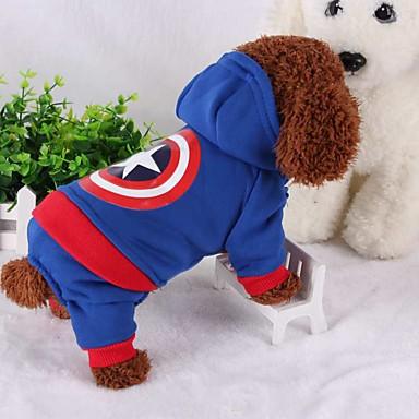 Hond kostuums Hondenkleding Cosplay Houd Warm American / USA Kostuum Voor huisdieren
