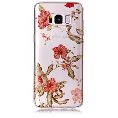 hoesje Voor Samsung Galaxy S8 Plus S8 IMD Patroon Achterkantje Glitterglans Bloem Zacht TPU voor S8 S8 Plus S7 edge S7 S6 edge S6