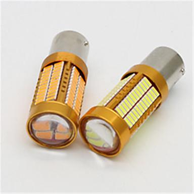 2pcs 106 smd4014 1156 lampă de semnalizare pentru direcție 1500lumensens becuri auto de frână 6000k t20 lumină pentru mașină dc12v