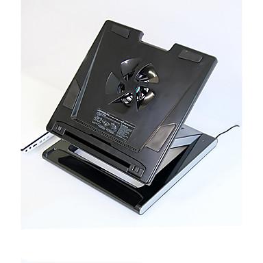 قابلة للطى أجهزة الكمبيوتر المحمول الأخرى ماك بوك لابتوب الوقوف مع مروحة التبريد بلاستيك