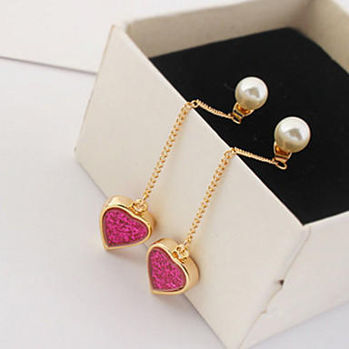 Pentru femei Cercei Picătură Imitație de Perle Personalizat Lux Design Unic Stil Atârnat Ciucure Clasic Vintage Boem De Bază Prietenie