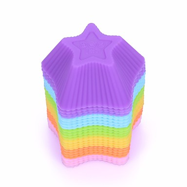 Kuchenformen 3D Für den täglichen Einsatz Silikon Backen-Werkzeug