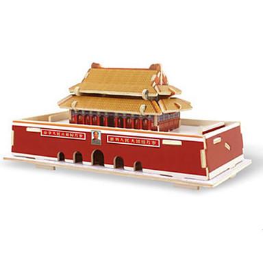 Robotime Puzzle 3D Puzzle Modele de Lemn Clădire celebru Arhitectură 3D Reparații Lemn Clasic Unisex Cadou