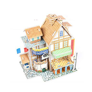 3D-puzzels Speeltjes Huis Architectuur DHZ Niet gespecificeerd Unisex Stuks