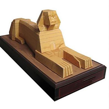 3D - Puzzle Papiermodel Modellbausätze Quadratisch Berühmte Gebäude Architektur Heimwerken Hartkartonpapier Klassisch Jungen Unisex