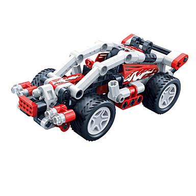 لعبة سيارات أحجار البناء سيارات السحب أخرى سيارة سباق اصنع بنفسك خلاق سيارة سباق صبيان للجنسين ألعاب هدية