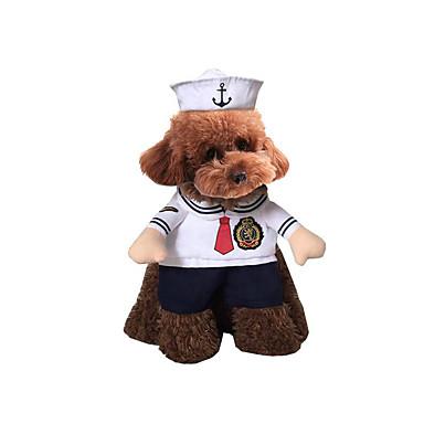 Câine Costume Îmbrăcăminte Câini Halloween Polițist/Militar Costume Pentru animale de companie