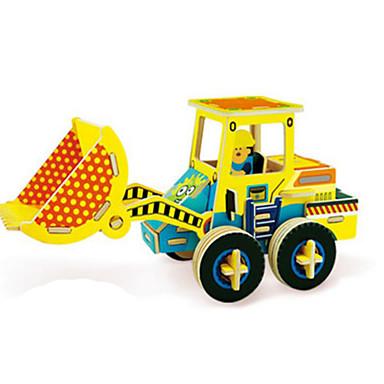 Robotime Speelgoedauto's 3D-puzzels Legpuzzel Houten modellen Vrachtwagen 3D DHZ Hout Klassiek Constructievoertuig Kinderen Volwassenen