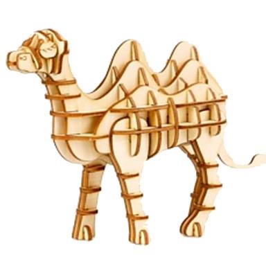 Puzzle 3D Puzzle Modele de Lemn Animal Animale Reparații Lemn Lemn natural Unisex Cadou