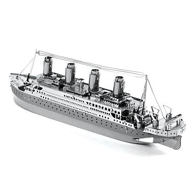 3D-puzzels Metalen puzzels Modelbouwsets Speeltjes Schip Kromi Niet gespecificeerd Stuks