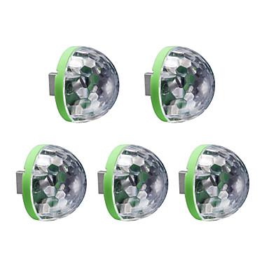 5pcs USB Lights LED Night Light RGB Meerkleurig USB Spraakbesturing
