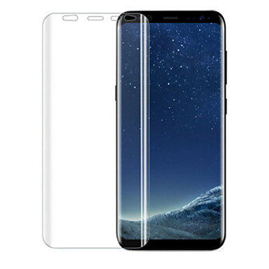 Displayschutzfolie Samsung Galaxy für S8 TPU 1 Stück Vorderer Bildschirmschutz 2.5D abgerundete Ecken