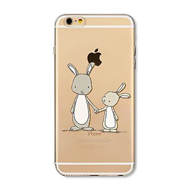 Hülle Für Apple iPhone X iPhone 8 Plus Transparent Muster Rückseitenabdeckung Tier Weich TPU für iPhone X iPhone 8 Plus iPhone 8 iPhone 7