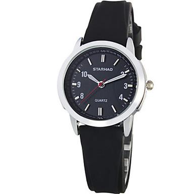 Dames Modieus horloge Kwarts Waterbestendig PU Band Zwart