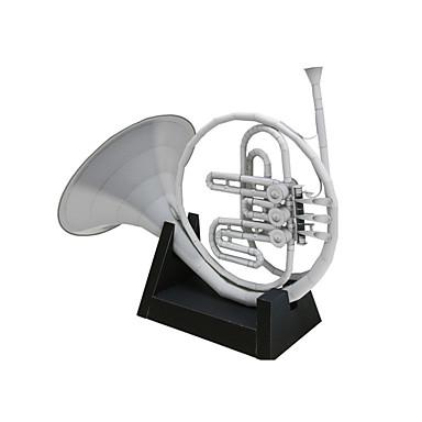 3D-puzzels Bouwplaat Papierkunst Modelbouwsets Vierkant Muziekinstrumenten 3D Simulatie Inrichting artikelen DHZ Klassiek Speelgoed