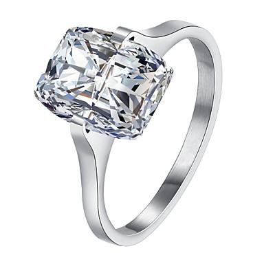 Dames Ring Kristal Zirkonia Gepersonaliseerde Luxe Meetkundig Uniek ontwerp Tatoeagestijl Klassiek Vintage Tekojalokivi Bohémien