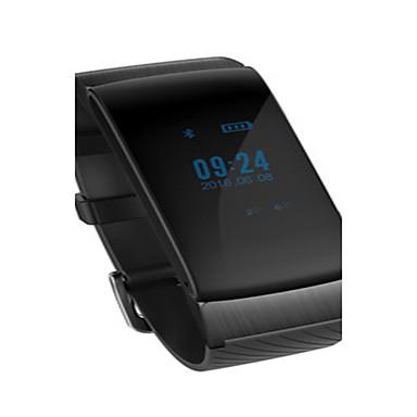 Herrn Smart Watch Modeuhr digital Wasserdicht Schrittzähler Caucho Band Schwarz Weiß Beige