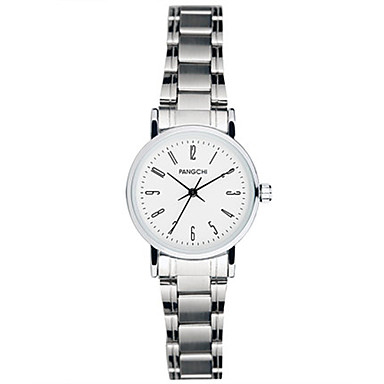 Dames Dress horloge Modieus horloge Kwarts Waterbestendig Legering Band Zilver