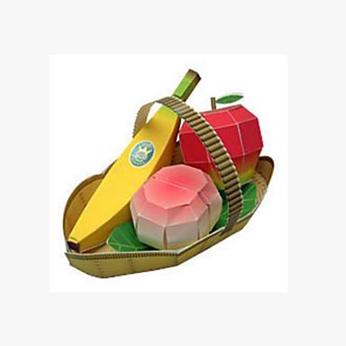 Puzzle 3D Jucarii Pătrat Banană 3D Fruct Reparații Hârtie Rigidă pentru Felicitări Ne Specificat Bucăți