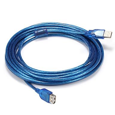 USB 2.0 محول كابل, USB 2.0 to USB 2.0 محول كابل ذكر- ذكر 5.0M (16FT)
