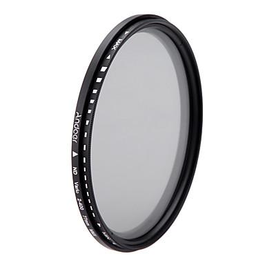 Andoer 77mm nd fader densitate neutră reglabil nd2 la nd400 filtru variabil pentru canon nikon dslr camera
