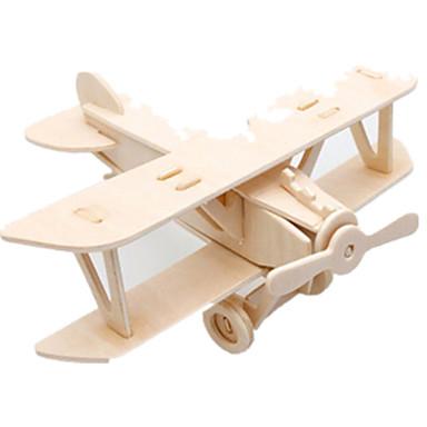 Spielzeug-Autos 3D - Puzzle Holzpuzzle Holzmodell Spielzeuge Flugzeug Kämpfer Berühmte Gebäude Architektur 3D Heimwerken Holz keine