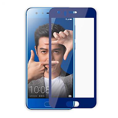 حامي الشاشة Huawei إلى Honor 9 زجاج مقسي 1 قطعة حامي كامل للجسم ضد البصمات مقاومة الحك انفجار برهان 2.5Dحافة منعظفة 9Hقسوة (HD) دقة عالية