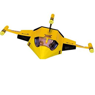 3D-puzzels Legpuzzel Papierkunst Modelbouwsets Vliegtuig Vechter Simulatie DHZ Klassiek Cartoon Kinderen Unisex Geschenk