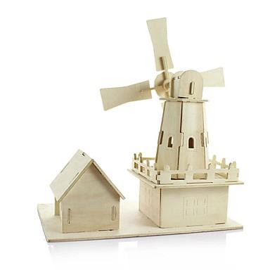 Modele de Lemn Moara de vant Reparații De lemn Clasic Pentru copii Cadou