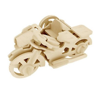 Robotime 3D-puzzels Legpuzzel Houten modellen Moto Leeuw DHZ Hout Natuurlijk Hout Kinderen Unisex Geschenk