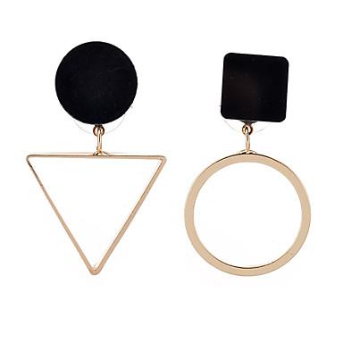 Dames Druppel oorbellen - Uniek ontwerp Goud / Zilver Voor Feest / Verjaardag / Feest / Avond