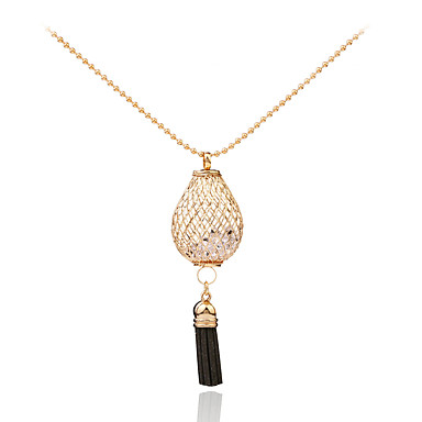 Dames Cirkelvorm Gepersonaliseerde Meetkundig Uniek ontwerp Riipus Tupsu Tag Opvallende sieraden Movie Jewelry Hypoallergeen Modieus