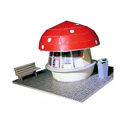 3D - Puzzle Papiermodel Papiermodelle Modellbausätze Berühmte Gebäude Haus Pilz Architektur 3D Heimwerken Klassisch Unisex Geschenk