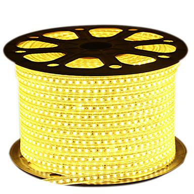 72W Flexibele LED-verlichtingsstrips 6950-7150 lm AC220 V 5 m 600 leds Warm Wit Wit Blauw