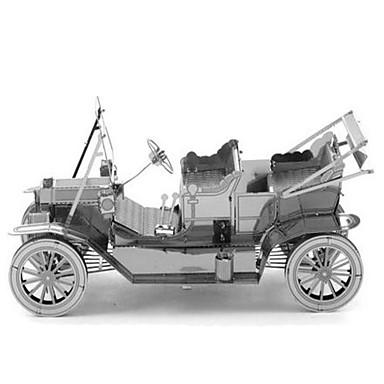 لعبة سيارات قطع تركيب3D تركيب تركيب معدني مستطيل دبابة قصر بناء مشهور معمارية 3D ألمنيوم معدن في سن المراهقة هدية