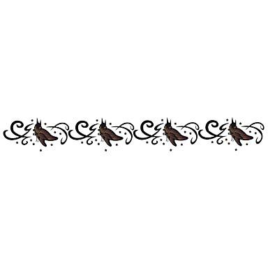 ملصقات الوشم سلسلة المجوهرات سلسلة الحيوانات سلسلة الزهور سلسلة الطوطم آخرون سلسلة الرسوم المتحركة Non Toxic نموذج Waterproof كارتون نساء