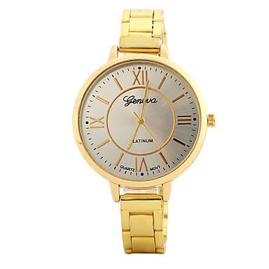 Pentru femei Ceas de Mână Ceas La Modă Ceas Casual Chineză Quartz / Aliaj Bandă Prăjit Casual Elegant Argint Auriu Roz auriu