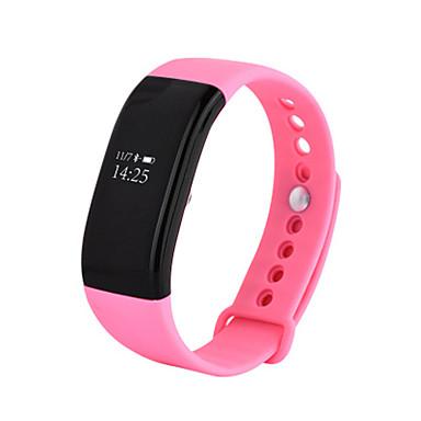 Damen Smart Watch Modeuhr digital Wasserdicht Caucho Band Cool Schwarz Weiß Blau Rosa Lila