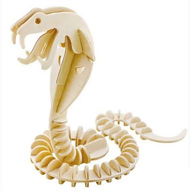 Puzzle 3D Puzzle Modele de Lemn Animale Reparații Lemn Lemn natural Pentru copii Adulți Unisex Cadou