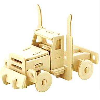 Puzzle 3D Puzzle Μοντέλα και κιτ δόμησης Modelul lemnului Jucarii Mașină 3D Animale Reparații Lemn Lemn natural Unisex Bucăți