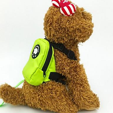 Kat Hond Dog Pack Huisdieren Dragers draagbaar Ademend Effen Oranje Rood Groen