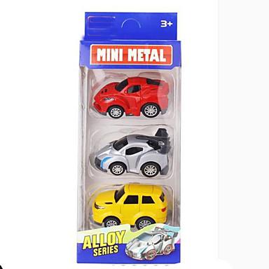 لعبة سيارات Playsets السيارة ألعاب دراجة نارية سيارة الحفريات سيارة الشرطة ألعاب مستطيل سبيكة معدنية الحديد قطع للجنسين هدية