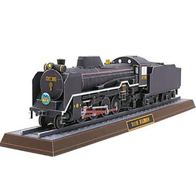 Spielzeug-Autos 3D - Puzzle Papiermodel Quadratisch Schleppe Heimwerken Hartkartonpapier Züge Unisex Geschenk